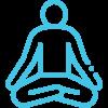 mediterend poppetje